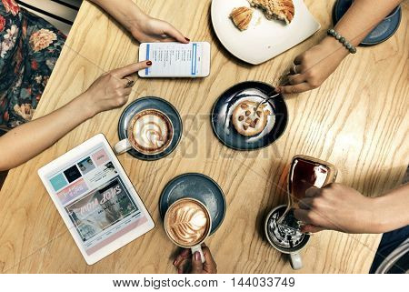 Coffee Beverage Relaxation Drinking Recreation Concept