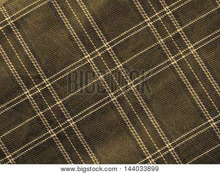 Tartan Background Sepia