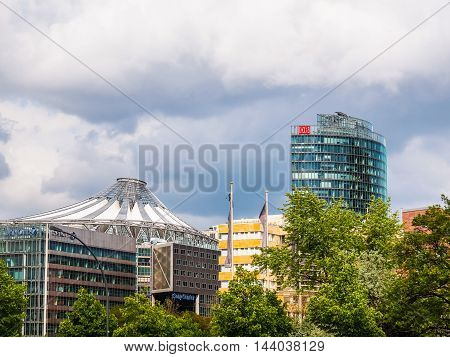 Potsdamerplatz In Berlin (hdr)