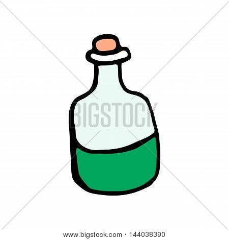 Mixture icon isolated on white background in style hand draw