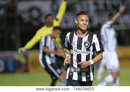 Rio de Janeiro Brazil - july 27 Nilton during Botafogo x Bragantino valid for the return leg of the 3rd phase of the Brazil Cup held at the Arena Botafogo