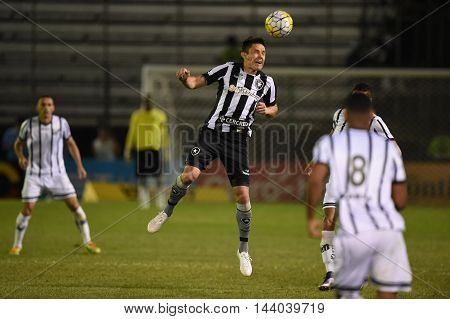 Rio de Janeiro Brazil - july 27 Canales during Botafogo x Bragantino valid for the return leg of the 3rd phase of the Brazil Cup held at the Arena Botafogo