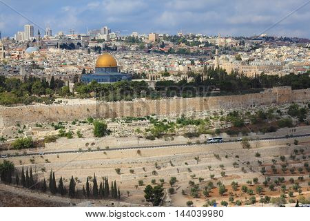 Ancient Jerusalem and the Dome of the Rock