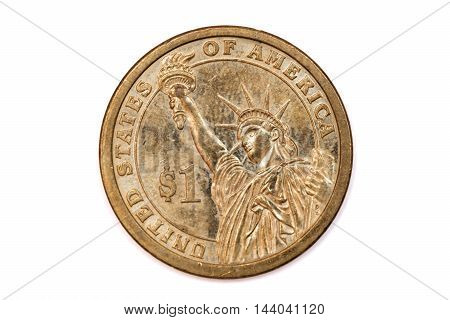 One Dollar Coin, United States of America Currency