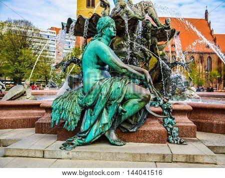 Neptunbrunnen (hdr)