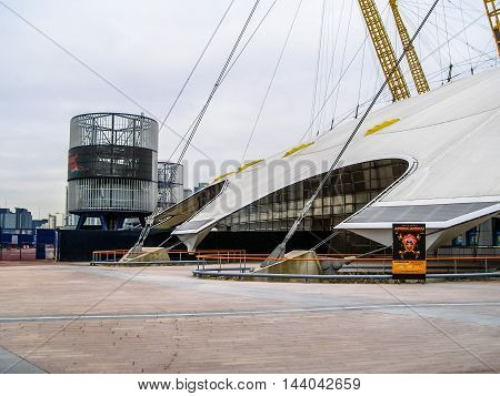 Millennium Dome London (hdr)