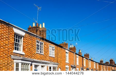 A Row Of Terraced Houses (hdr)