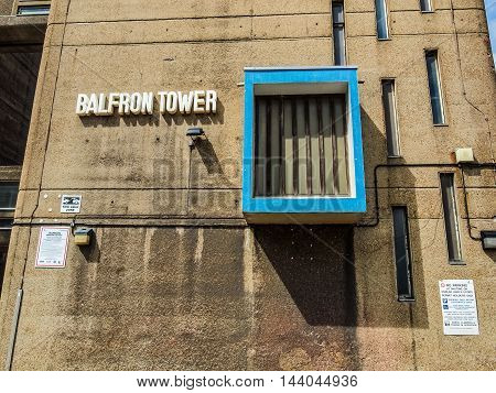 Balfron Tower In London (hdr)