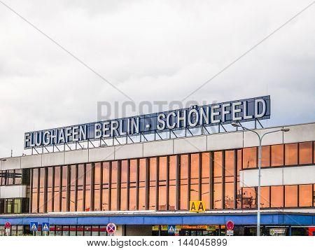 Schoenefeld Airport Berlin (hdr)