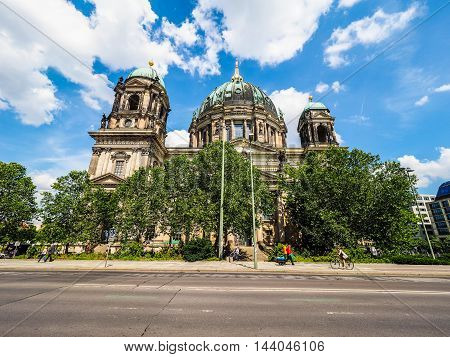 Berliner Dom In Berlin (hdr)