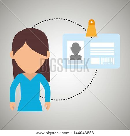 character secure protection vector illustration eps 10