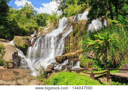 Mae Klang waterfall Doi Inthanon national park Chiang Mai Thailand