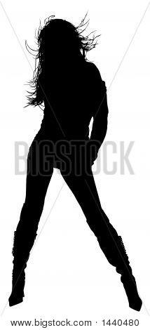 Woman Silhouette 003