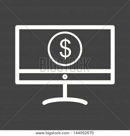 Money, online, transfer icon vector image. Can also be used for currency. Suitable for web apps, mobile apps and print media.