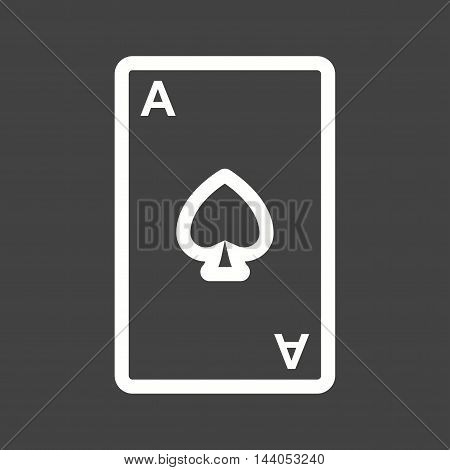 Cards, cowboy, west icon vector image. Can also be used for wild west. Suitable for mobile apps, web apps and print media.