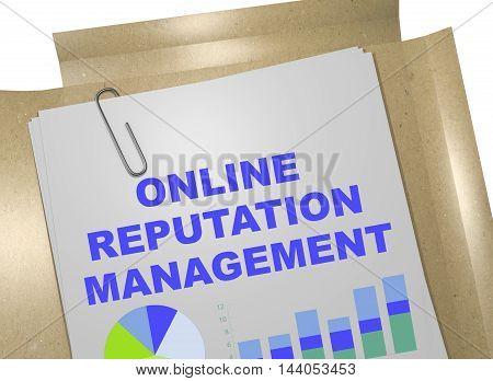 Online Reputation Management Concept