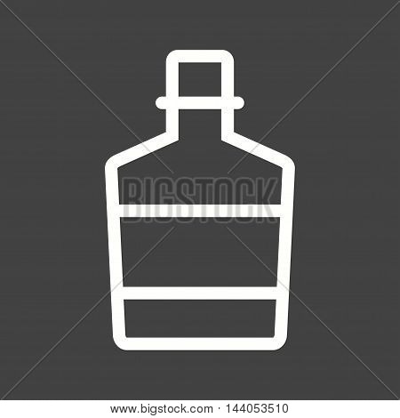Whiskey, cowboy, bottle icon vector image. Can also be used for wild west. Suitable for mobile apps, web apps and print media.
