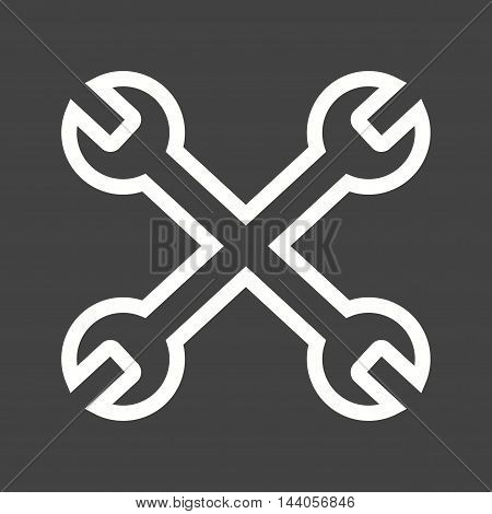 Configuration, control, setting icon vector image. Can also be used for startup. Suitable for mobile apps, web apps and print media.