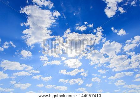 Natural clouds blue sky background, Cloud, Sky