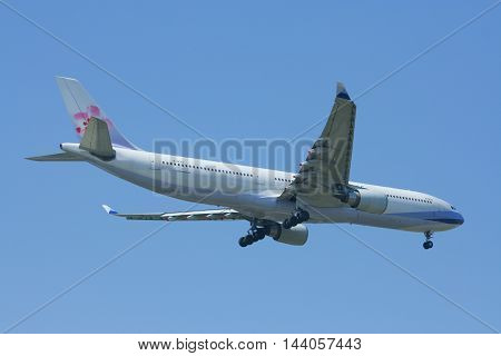 B-18312 Airbus A330-300 Of China Airline.