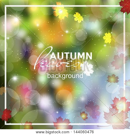 Abstract summer spring background. Ulici sunlight, flyer