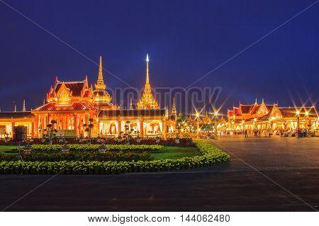 Phra Meru Thai Royal Crematorium Bangkok Thailand
