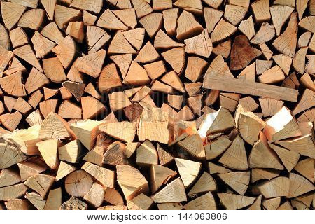 Natural Firewood Texture