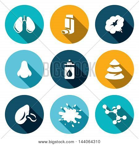 Bronchi, Smoke, Inhaler, Nose Drops Needles Respiratory Sputum Bacteria