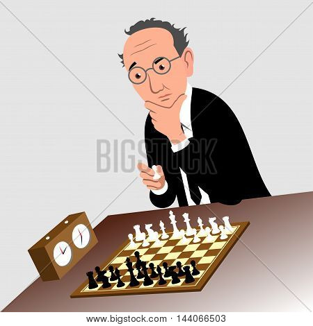 Chess - Vector illustration - EPS .