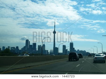 The Skylines Of Downtown Toronto