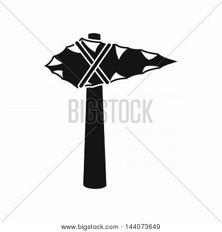 Ancient hammer icon in simple style isolated on white background. Tool symbol