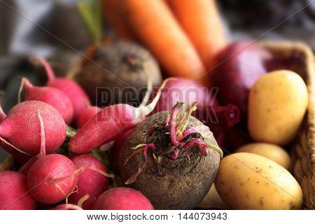 Fresh vegetables, closeup
