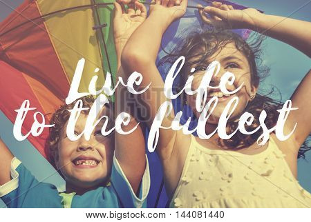 Live Life Being Balance Living Breath Birth Concept