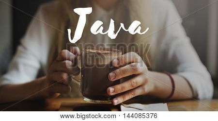Java Coding Digital Software Technology Web Concept