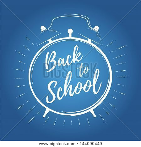 Back to school vector. Children education background