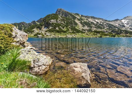 Sivrya peak and Popovo lake, Pirin Mountain, Bulgaria