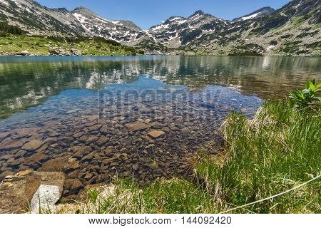 Amazing landscape of Demirkapiyski chuki and Dzhano peaks, Popovo lake, Pirin Mountain, Bulgaria