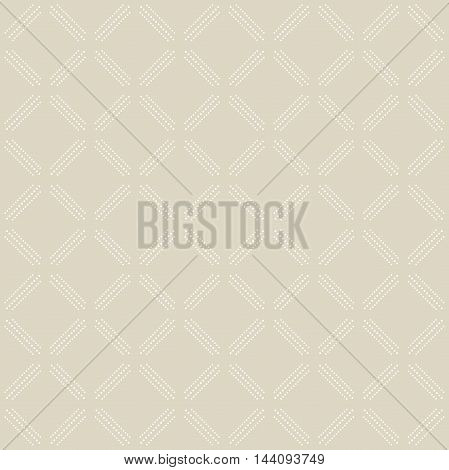 Geometric dotted vector pattern. Seamless abstract modern texture for wallpapers and backgrounds