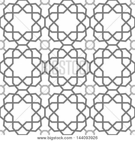 Seamless vector light pattern for your designs and backgrpounds. Modern geometric ornament