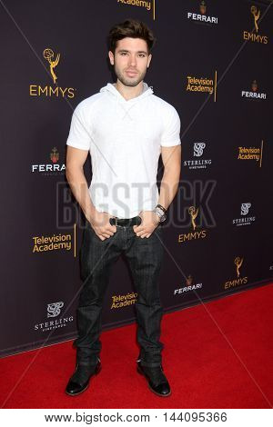 LOS ANGELES - AUG 24:  Kristos Andrews at the Daytime TV Celebrates Emmy Season  at the Television Academy - Saban Media Center on August 24, 2016 in North Hollywood, CA