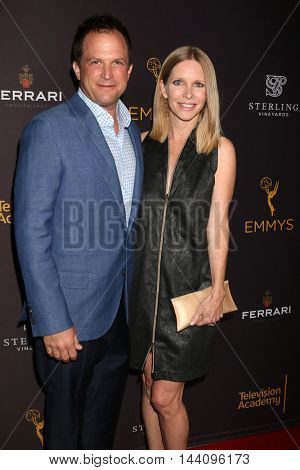 LOS ANGELES - AUG 24:  Scott Martin, Lauralee Bell at the Daytime TV Celebrates Emmy Season  at the Television Academy - Saban Media Center on August 24, 2016 in North Hollywood, CA