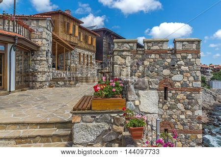 Ethnographic Museum and Ancient fortifications in old town of Sozopol, Burgas Region, Bulgaria