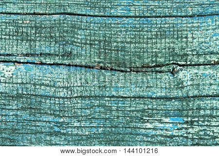 Weathered Painted Wood Texture.