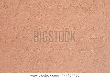 Salmon Pink Rough Concrete Wall Background