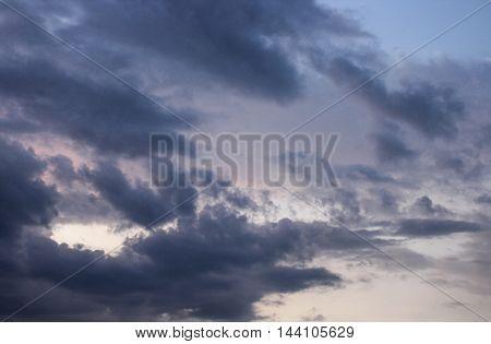 Sunrise. Colorful Sky and Cloud Beautiful nature sky soft cloud Colorful and motion raincloud
