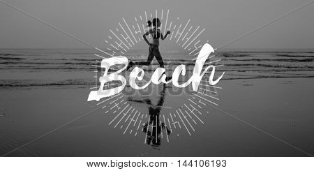Beach Vacation Relaxation Sea Concept