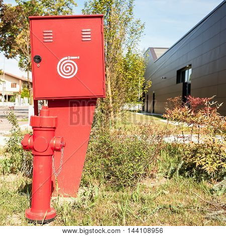 Fire Hydrant And Container For The Fire Hose, And Fire Workplace Signal
