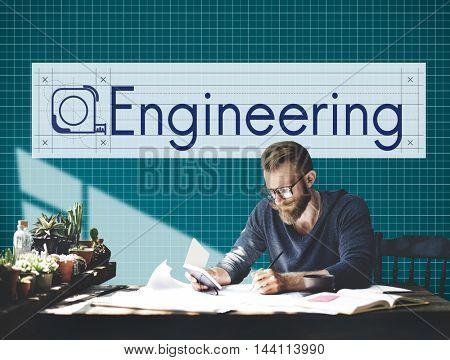Enigineering Building Construction Industrial Concept