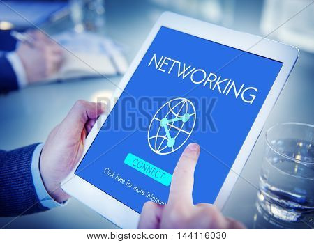 Networking Globalization Technology Internet Connect Concept