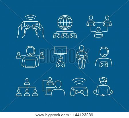 Vector Video Games Icons